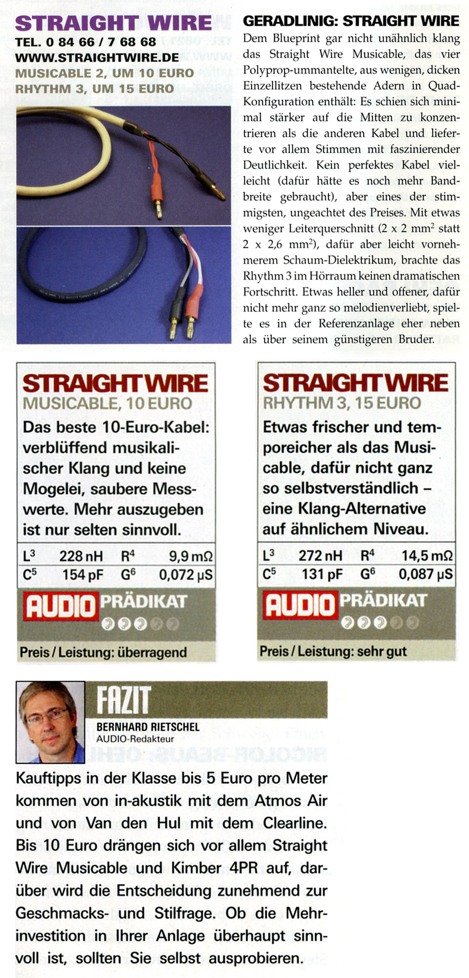 Fantastic Straight Wire Speaker Cables Mold - Wiring Diagram Ideas ...
